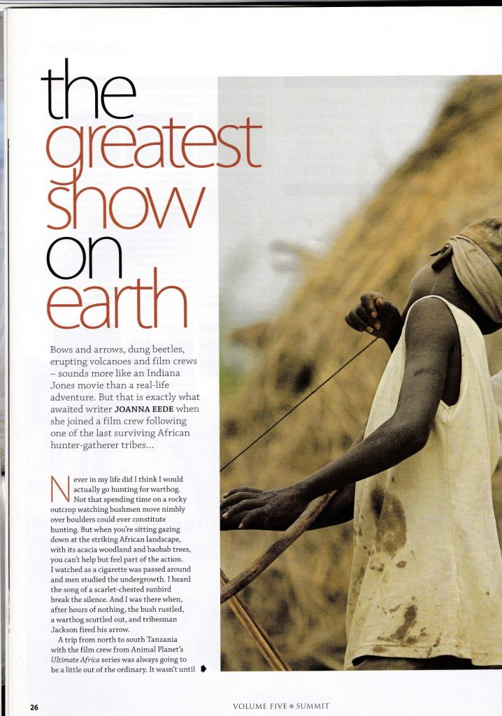 Hadza for Summit magazine jpeg